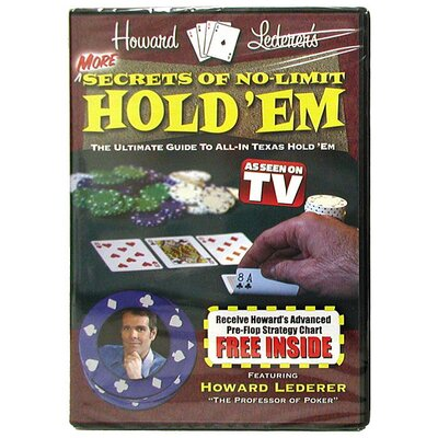 Trademark Global DVD - More Secrets of No-Limit Hold'Em with Howard Lederer