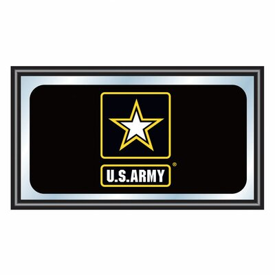 Trademark Global U.S Army Framed Logo Mirror
