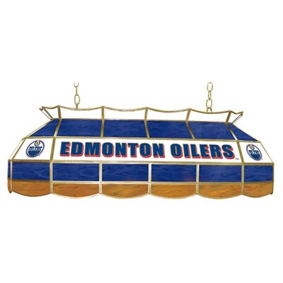 "Trademark Global NHL 40"" Stained Glass Lighting Fixture"