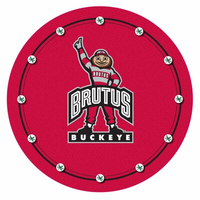 Trademark Global Ohio State University - Brutus Buckeye Logo Padded Barstool