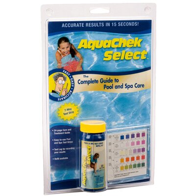 Aqua Chek Select Kit Pool and Spa Test Strip