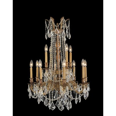 Windsor 12 Light Crystal Chandelier