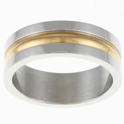 Trendbox Jewelry Striped Band Ring