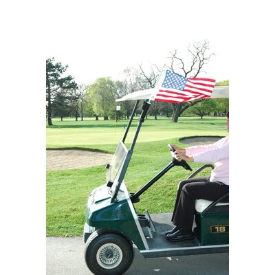 "JTD Enterprises 26"" Golf Cart Flagpole"