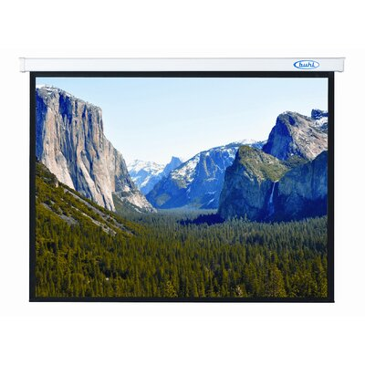 Buhl Innsbruck 70&quot; x 70&quot; Electric Projector Screen - 1:1 Format