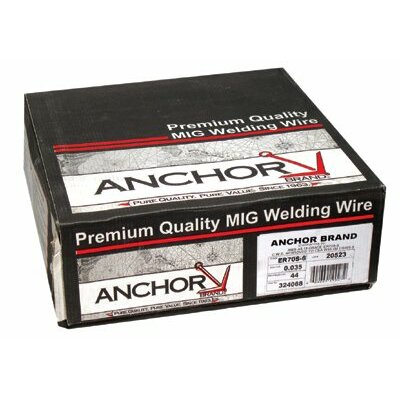 Anchor Spool Mild Steel Welding Wire (33 lb Spool) - er70s-6 .045x33 (33# spool-i)