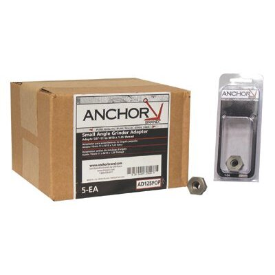 Anchor Adapters - 5/8-11 to m10 x 1.25 adapter pop
