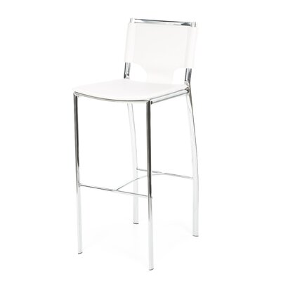 dCOR design Ark Barstool in White