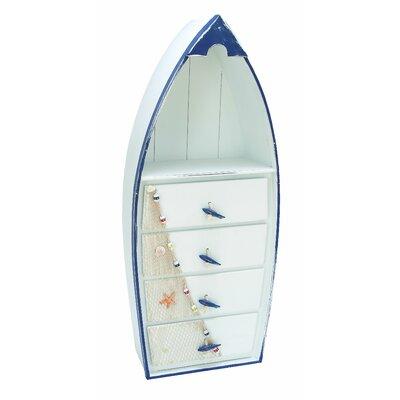Boat 4 Drawer Cabinet