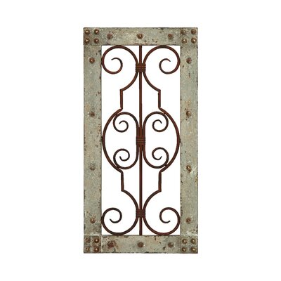 Antiqued Wall Panel