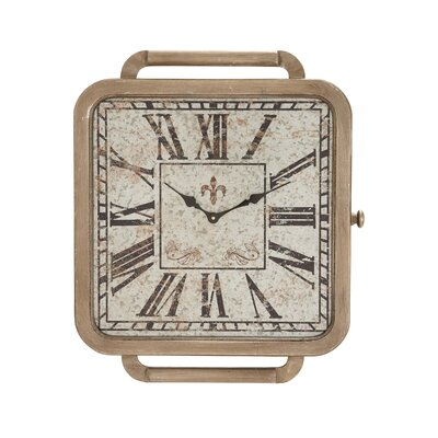Vintage Allure Wall Clock