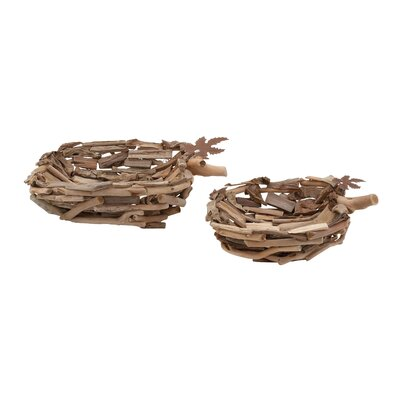 Woodland Imports Trays (Set of 2)