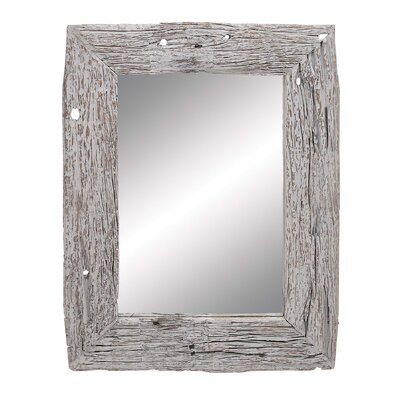 Oblong Wood Reclaimed Mirror