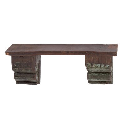 Antique Reclaimed Wood Wall Shelf