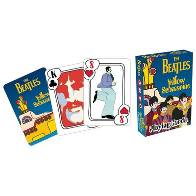 Aquarius Beatles Yellow Submarine Playing Cards