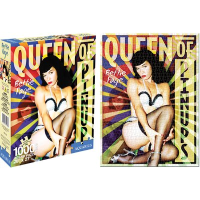 Aquarius Bettie Page Pinups Jigsaw Puzzle