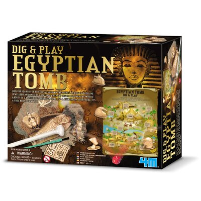 4M Dig and Play Egyptian Tomb