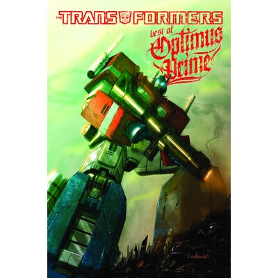 Diamond Selects IDW Transformers Best Of Optimus Prime TP