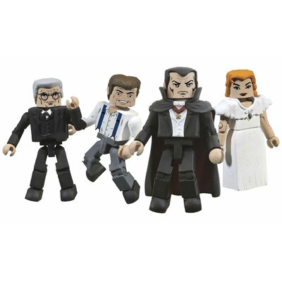 Diamond Selects Universal Monsters Dracula Minimates Box Set