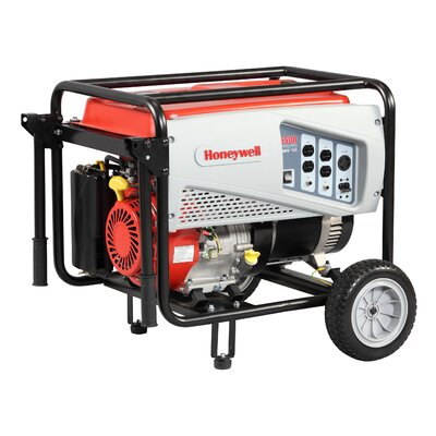 5,500 Watt Portable Gas Powered Generator - 6036