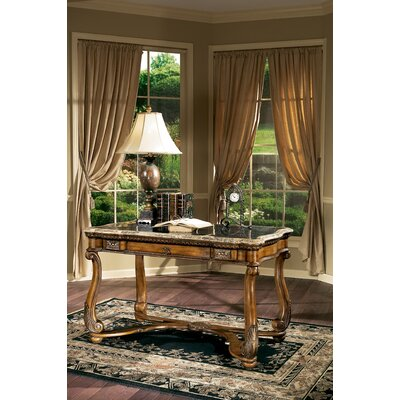 Butler Heritage Writing Desk with Fossil St1 Veneer Top