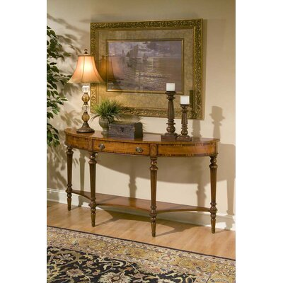 Butler Connoisseur's Demilune Console Table