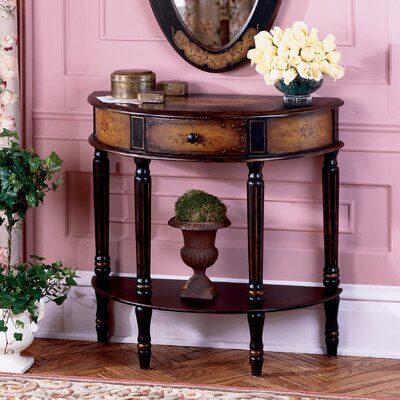 Butler Artist's Originals Demilune 1 Drawer Console Table