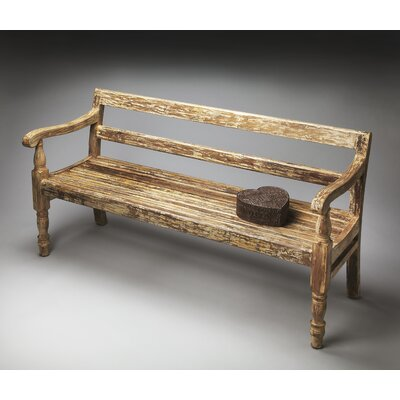 OrlandiStatuary Furniture Curved Stone Garden Bench | Wayfair