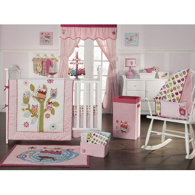 Zutano Owls Crib Bedding Collection