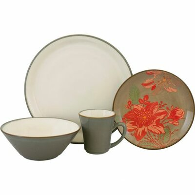 Signature Trumpet 16 Piece Dinnerware Set
