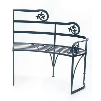 ACHLA Lutyen II Wrought Iron Garden Bench