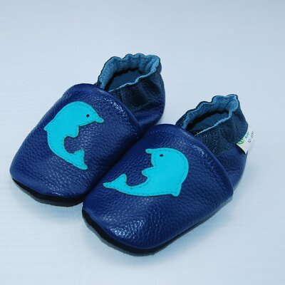 Augusta Baby Dolphin Soft Sole Leather Baby Shoes