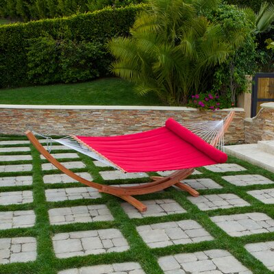 RST Outdoor Cantina Wood Arc Hammock with Stand