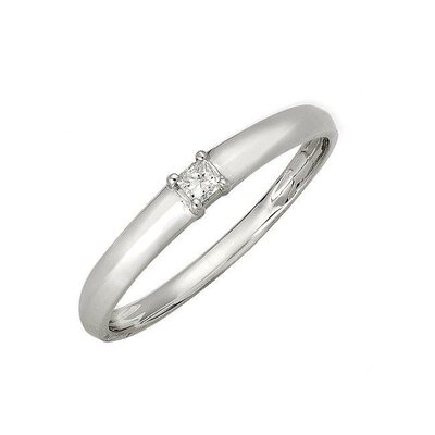 Niru 10k White Gold Diamond Accent Promise Ring