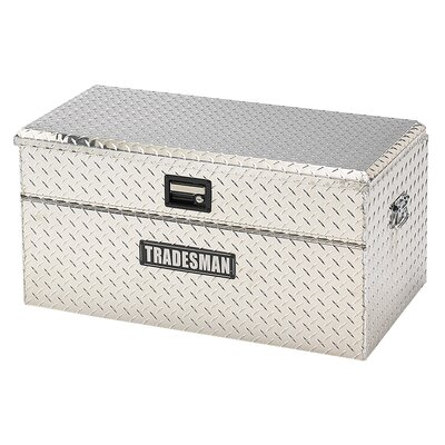 Tradesman Flush Mount Single Lid Truck Tool Box