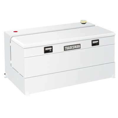 Tradesman 90 Gal. Liquid Tank with Storage Box Combo