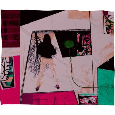 DENY Designs Randi Antonsen City 2 Fleece Throw Blanket
