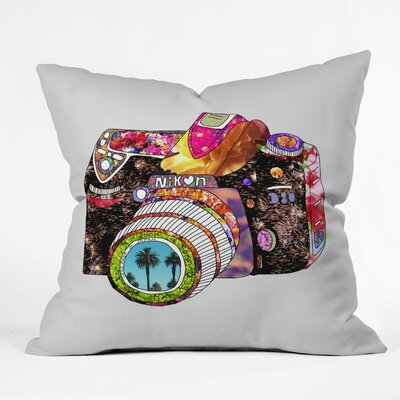 DENY Designs Bianca Green Picture This Woven Polyester Throw Pillow