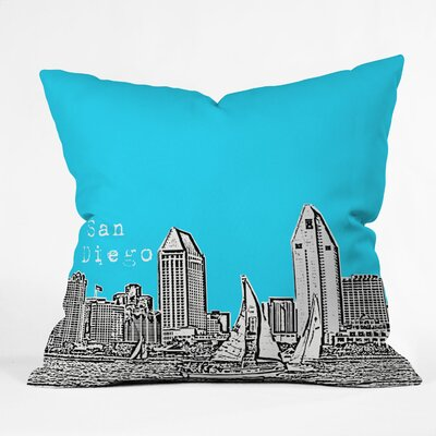 DENY Designs Bird Ave Polyester San Diego Indoor/Outdoor Throw Pillow