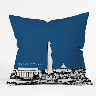 DENY Designs Bird Ave Washington Indoor/Outdoor Polyester Throw Pillow