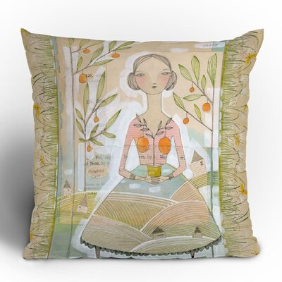 DENY Designs Cori Dantini Always Thoughtful Woven Polyester Throw Pillow