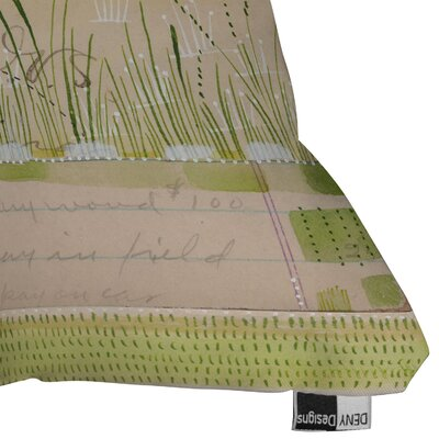 DENY Designs Cori Dantini Horizontal Woven Polyester Throw Pillow