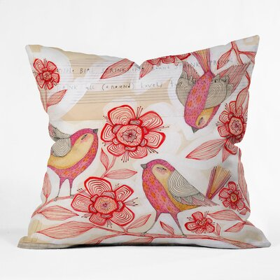 DENY Designs Cori Dantini Sprinkling Sound Throw Pillow