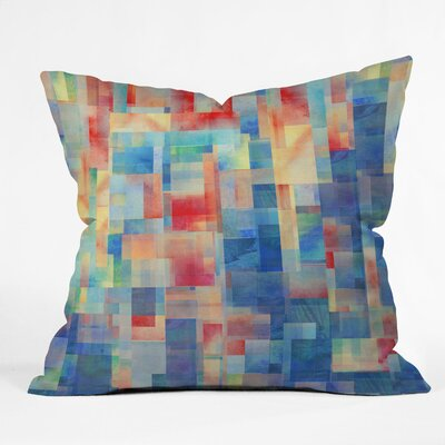DENY Designs Jacqueline Maldonado Torrentremix Indoor / Outdoor Polyester Throw Pillow