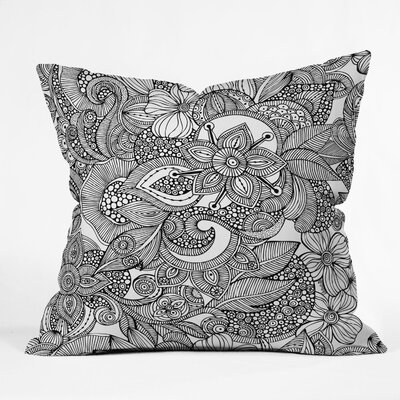 DENY Designs Valentina Ramos Doodles Indoor/Outdoor Polyester Throw Pillow