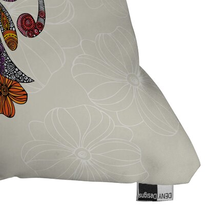 DENY Designs Valentina Ramos Polyester Unicornucopia Indoor/Outdoor Throw Pillow
