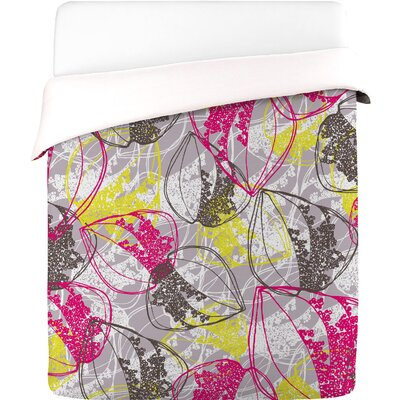 DENY Designs Rachael Taylor Organic Retro Leaves Duvet Cover Collection