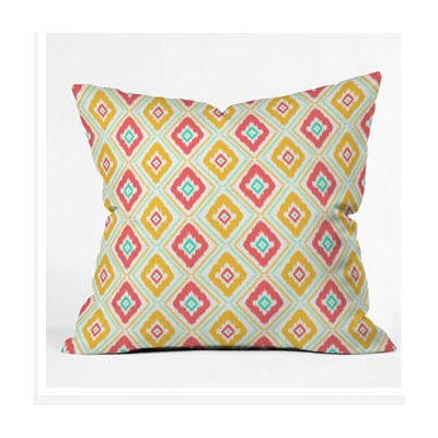 DENY Designs Jacqueline Maldonado Zig Zag Ikat Throw Pillow