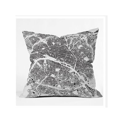 DENY Designs CityFabric Inc Paris Woven Polyester Throw Pillow