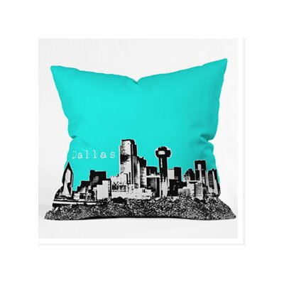 DENY Designs Bird Ave Dallas Woven Polyester Throw Pillow